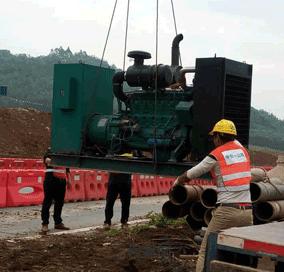 柳州发电机租赁